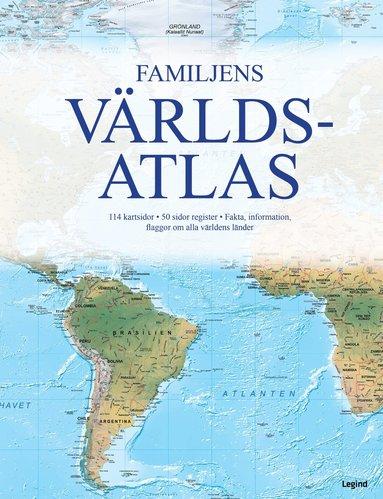 bokomslag Familjens världsatlas