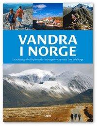 bokomslag Vandra i Norge