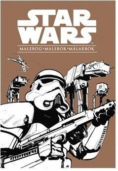 bokomslag Star Wars : malebog, malebok, målarbok