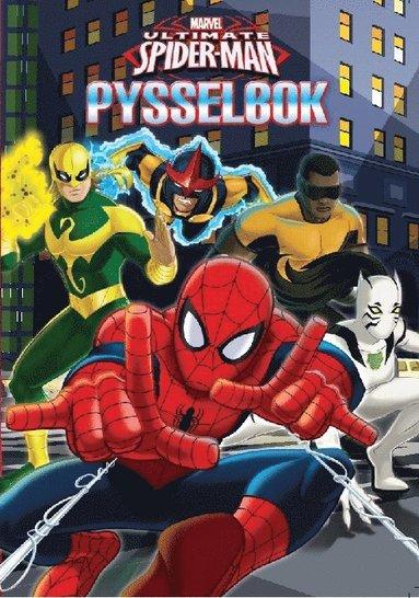 bokomslag Marvel Spiderman. Pysselbok