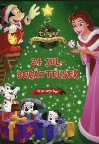 bokomslag Disney - 24 Julberättelser : en för varje dag