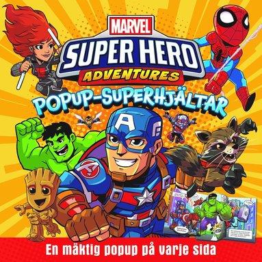 bokomslag Popup - superhjältar