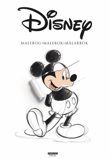 bokomslag Disney malebog - malebok - målarbok
