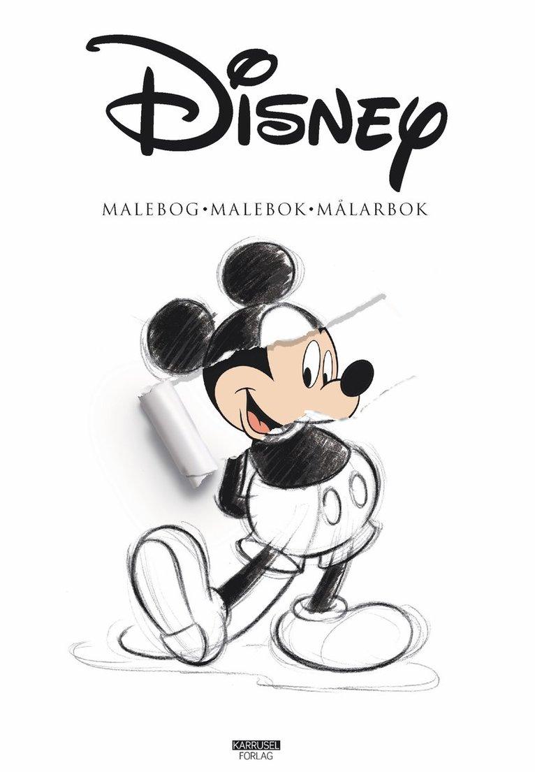 Disney malebog - malebok - målarbok 1
