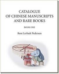 bokomslag Catalogue of Chinese Manuscripts and Rare Books