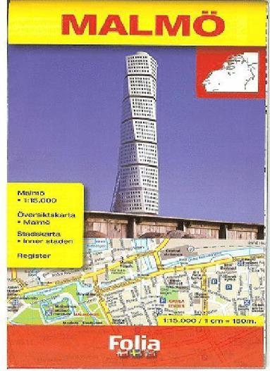 bokomslag Malmökarta Skala 1:15000