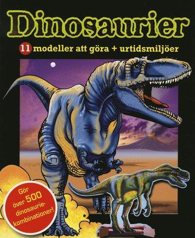 bokomslag Dinosaurier : 11 modeller att göra + utridsmiljöer