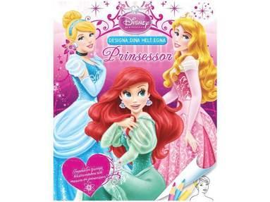 bokomslag Designa dina helt egna prinsessor - Ariel