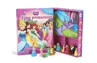 bokomslag Disney fina prinsessor (sagobok, figurer, lekmatta)