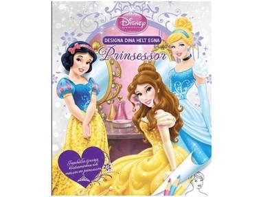 bokomslag Designa dina helt egna prinsessor - Belle