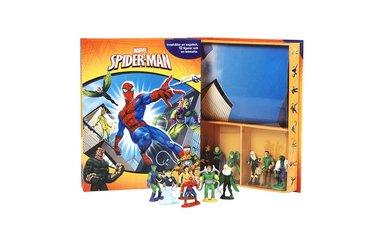bokomslag Spiderman (sagobok, figurer, lekmatta)