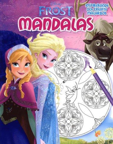 bokomslag Disney Frost Mandalas 2 : Inspirerande och kreativ målarbok