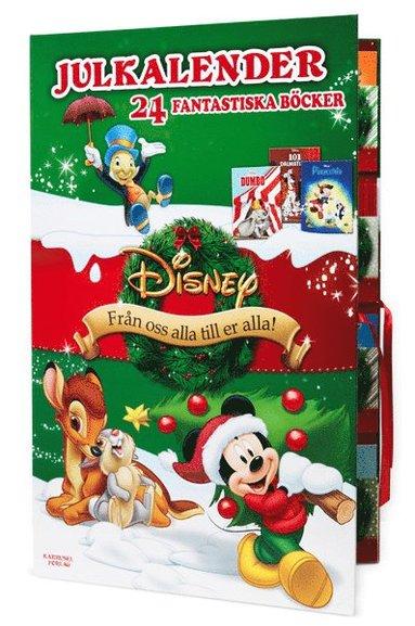 bokomslag Disney julkalender - 24 fantastiska böcker
