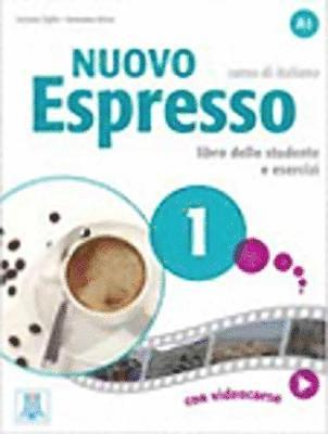 bokomslag Nuovo Espresso 1. Libro + DVD-Rom. Livello A1.