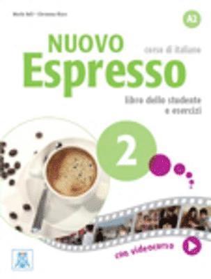 bokomslag Nuovo Espresso 2. Libro Studente + DVD