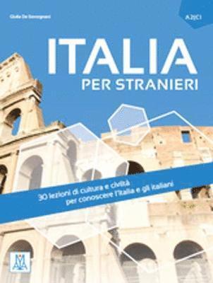 bokomslag Italia per stranieri. Livello A2/C1. (libro + mp3 on line)