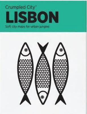 bokomslag Lisbon Crumpled City Map