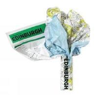bokomslag Edinburgh Crumpled City Map