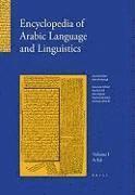 bokomslag Encyclopedia of Arabic Language and Linguistics, Volume 1