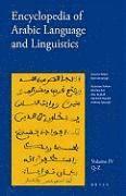 bokomslag Encyclopedia Of Arabic Language And Linguistics