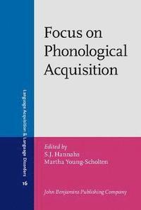 bokomslag Focus on Phonological Acquisition