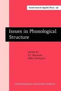 bokomslag Issues in Phonological Structure