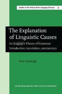 bokomslag The Explanation of Linguistic Causes
