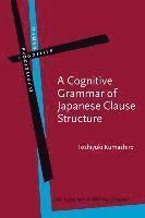 bokomslag Cognitive grammar of japanese clause structure