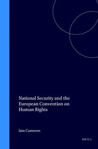 bokomslag National Security and the European Convention on Human Rights