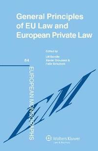 bokomslag General Principles of EU Law and European Private Law