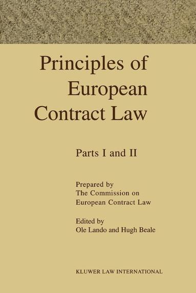 bokomslag Principles Of European Contract