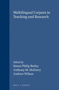 bokomslag Multilingual Corpora in Teaching and Research