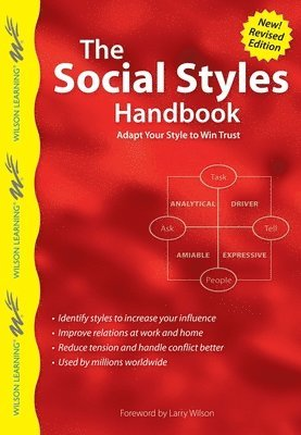 bokomslag Social styles handbook - adapt your style to win trust