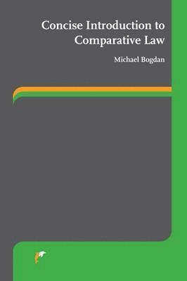 bokomslag Concise Introduction to Comparative Law