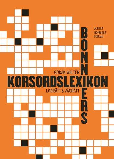 bokomslag Bonniers korsordslexikon