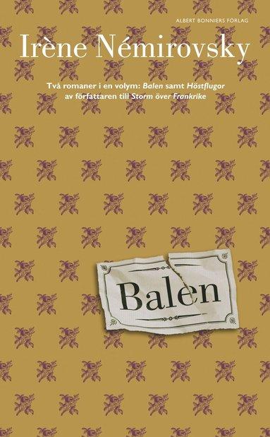 bokomslag Balen / Höstflugorna
