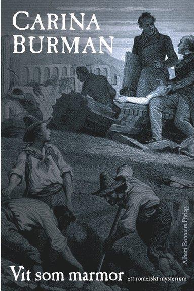 bokomslag Vit som marmor : ett romerskt mysterium