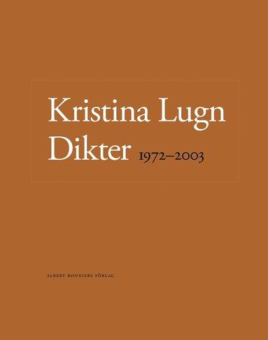 bokomslag Dikter 1972-2003