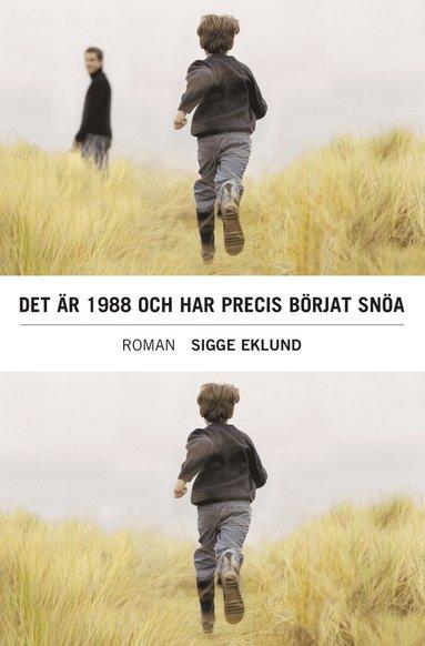 bokomslag Det är 1988 och har precis börjat snöa : roman