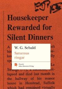 bokomslag Saturnus ringar : en engelsk vallfart
