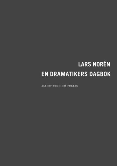bokomslag En dramatikers dagbok