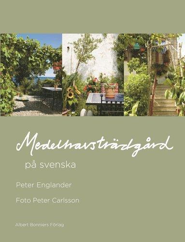 bokomslag Medelhavsträdgård på svenska