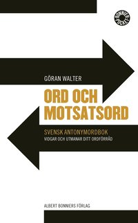 bokomslag Ord och motsatsord : svensk antonymordbok
