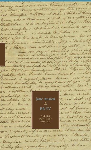 bokomslag Jane Austens brev