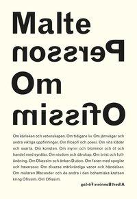 bokomslag Om Ofissim