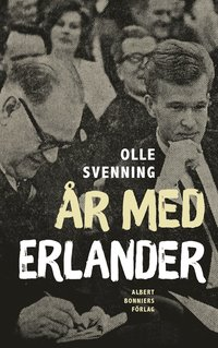 bokomslag År med Erlander