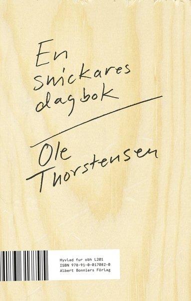 bokomslag En snickares dagbok