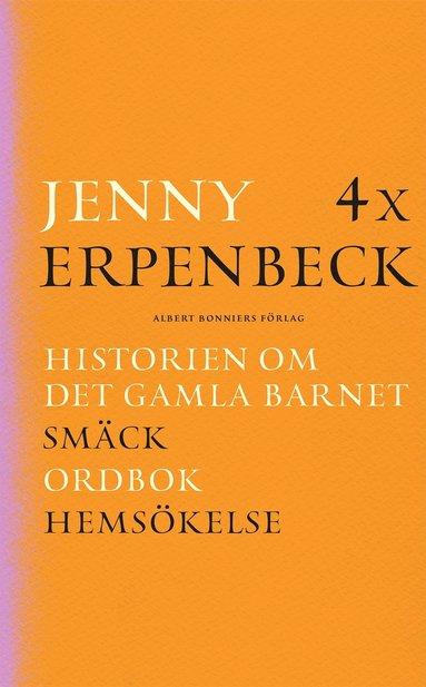 bokomslag 4 x Erpenbeck : Historien om det gamla barnet; Smäck; Ordbok; Hemsökelse