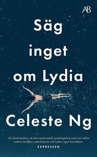 bokomslag Säg inget om Lydia