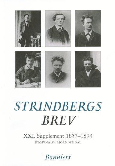 bokomslag Brev XXI.Supplement. 1857-1892